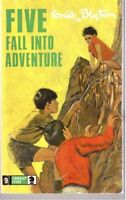 Five Fall into Adventure (Knight Books),Enid Blyton- 9780340041413