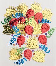 Cake Swirls Balloons Stars Table Confetti Foiletti Decoration 14-84g