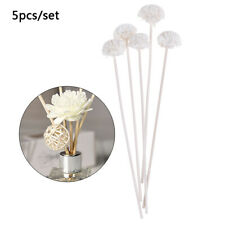 5pcs Flower Rattan Reeds Fragrance Diffuser Non-fire Replacement Refill St Jv