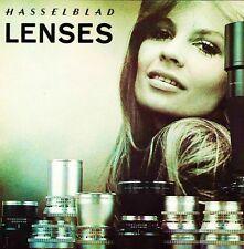 1969 HASSELBLAD CAMERA LENSES BROCHURE-DISTAGON-PLANAR-TELE TESSAR-38-500mm LENS