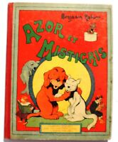 RABIER. Azor et Mistigris. Tallandier 1911  Album in-4°. EO en bel état