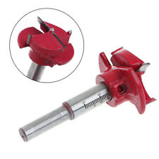 35MM Carbide Tipped Hinge Cutter Boring Drill Wood Hole Bit Reamer +Depth Guide