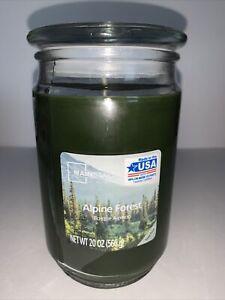 Mainstays ALPINE FOREST 20 oz. Jar Candle