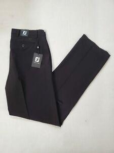 New Footjoy Perf Golf Pants Black Men's Size W34 L34
