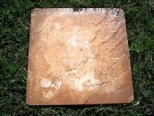 "concrete1/8th"" poly plastic slate paver mold mould 16"" x 16"" x 1.5"" cast 100's"