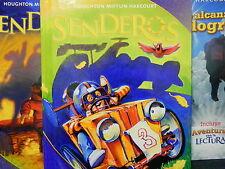 Houghton Mifflin Harcourt Senderos Student Edition Volume 2. 3rd Grade 3 2011