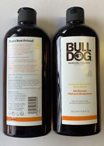 x2 Bull Dog Body Wash Lemon & Bergamot