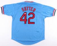 Bruce Sutter HOF St. Louis Cardinals Baseball Jersey  JSA Hologram Authenticate!