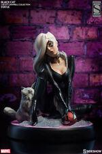 SIDESHOW SPIDER-MAN BLACK CAT EXCLUSIVE COMIQUETTE STATUE J SCOTT CAMPBELL