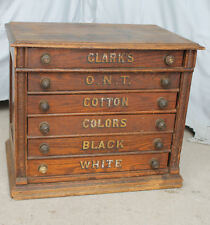 Antique Spool Cabinets | eBay