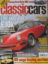 Classic Cars 03/2005 featuring Aston Martin DBR1, Porsche, Mercedes,Riley, Lotus