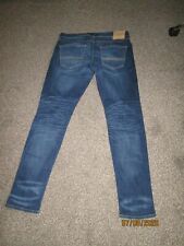 """Mens Jeans Abercrombie & Fitch Talla 34wX32 """"usado"""""""