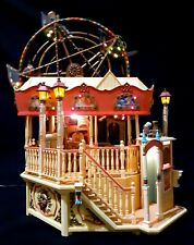 Enesco Majestic Victorian Style Ferris Wheel - collectable -  Animated - Music