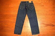 Levi's 550 - RELAXED Fit Tapered Leg Blue Jeans Men Size 29 x 30 - Premium Denim