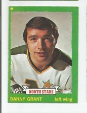 1973-74 OPC #214 DANNY GRANT MINNESOTA NORTH STARS O-PEE-CHEE