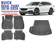 All Weather Floor Mats Trunk Liner Set For Buick Regal TourX 2018-2021 Wagon 3D