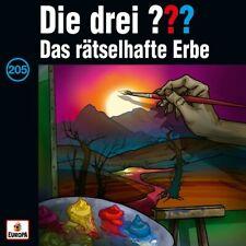 DIE DREI FRAGEZEICHEN ??? - Folge 205 Das Rätselhafte Erbe CD NEU & OVP