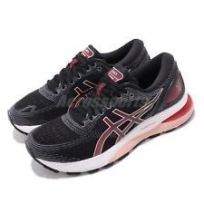 Asics Gel-Nimbus 21 Black Laser Pink Womens Running Shoes Runner 1012A156-002