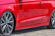 CUP Seitenschweller Schweller Sideskirts ABS für Audi A1 8X S-Line Ingo Noak