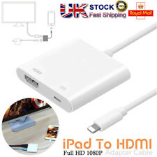 8 Pin Lightning to Digital AV Adapter HDMI Cable For iPhone X 8 7 Plus iPad Air