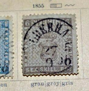 Schweden 1855 bis ca. 1934: GUTE Altsammlung auf Schaubek-Vordrucken