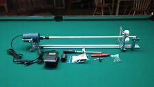 SHARPSHOOTER PORTABLE POOL CUE LATHE TIPS SHAFT REPAIR WRAPS WITH HOW TO MANUAL