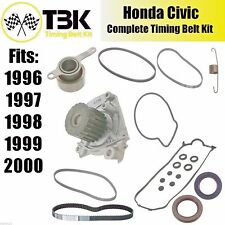 Honda Civic COMPLETE Timing Belt Kit with Water Pump and High Quality Brands