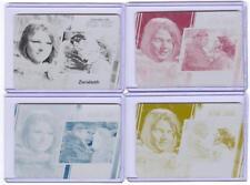 Women Of Star Trek 50th Anniversary Printing Plate Set 18 Zarabeth Archive Box E