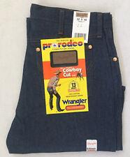 Vintage NOS Wrangler Men's 13MWZ 32x40 Cowboy Cut Original Fit Denim Blue Jeans