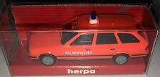 """herpa 181020 – BMW 525i Touring """"FEUERWEHR tagesleuchtrot"""", H0 1:87, neu + OVP"""