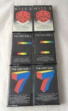 Compilation Pop Music Cassettes