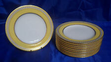 Atq Spode Copelands R4119 Luncheon Plates Sold By W.M.H. Plummer & Co, New York