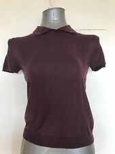 LIMITED COLLECTION, PURPLE, SIZE 10, LIGHT KNIT SHORT SLEEVE JUMPER/TOP, BNWT
