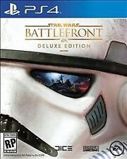 Star Wars Battlefront -- Deluxe Edition (Sony PlayStation 4, 2015)