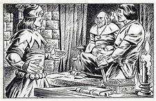 LE FOU DU ROI MAGNIFIQUE DESSIN ORIGINAL AREDIT (dessin No 9) BRANTONNE ?