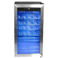Smeta 28 Bottles Compressor Wine Fridge Cella Cooler Freestanding /Under Counter