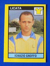 FIGURINA VALLARDI IL GRANDE CALCIO 1988/89 1989 - N.453 - GNOFFO - LICATA - new