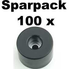 100 Gummifüße 38x25 Lautsprecherfüße Gummifuß Boxenfüße Gehäusefuß Boxenfuß Fuß