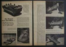 M29C Water Weasel WWII Amphibious Cargo Carrier 1944 original vintage pictorial