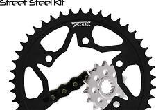 06-08 YZF R1 Vortex 520 RV3 16/45T Light Steel Sprocket & Chain Kit Yamaha