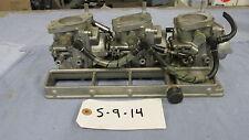 Suzuki 55hp, carburator set, carbs, 13202-947A0, 13201-947A0, 13203-947A0