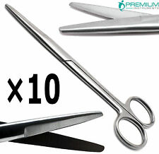 10 Surgical Scissors Supercut 675 Bluntblunt Mayo Straight Dissecting Tools