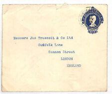 DD172 1913 Brazil 200rs Postal Stationery TRANSATLANTIC London {samwells-covers}