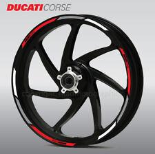Ducati Corse wheel decals stickers rim stripes 1198 1098 Monster Multistrada