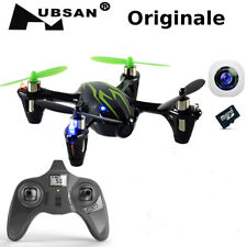 Drone quadricottero H107C originale HUSBAN RM9486R Nero E Verde