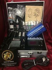 SS6  COMPLETE TATTOO KIT, 2 COIL MACHINE, DIGITAL POWER UK INK AND NEEDLES