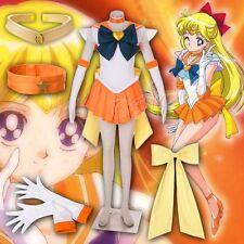 Sailor Moon Sailor Venus Minako Aino Cosplay scarpe stivali