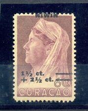 CURACAO # 182 VARIETEIT = SHIFTED OVERPRINT =  **  MNH  VF  @13