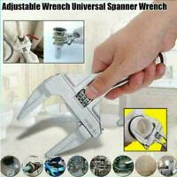 Adjustable Wrench Handheld 16-68mm Large Opening Bathroom Wrench Spanner NEU