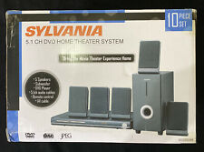 Sylvania Sdvd5088 5.1 Channel Dvd Home Theater Speaker System New In Box